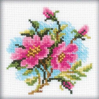 Dog Rose - Cross Stitch Kit