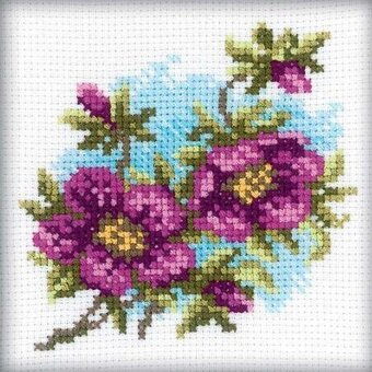 Hellebore - Cross Stitch Kit