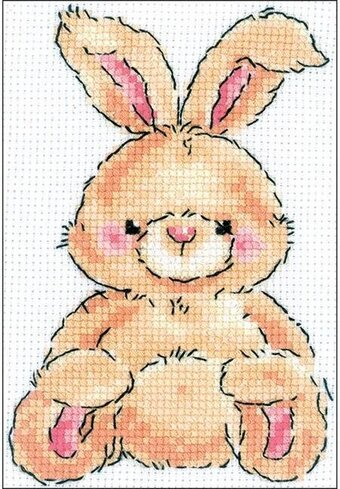 Leveret Rabbit - Cross Stitch Kit