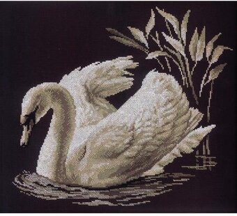 Swan - Cross Stitch Kit