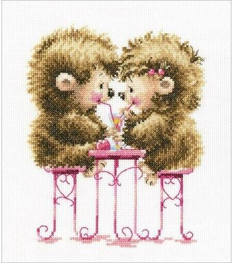 Raspberry Cocktail - Cross Stitch Kit