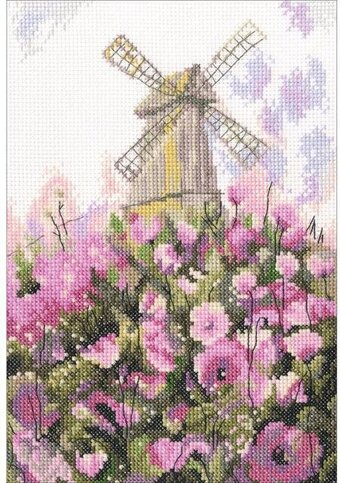 Old Mill - Cross Stitch Kit