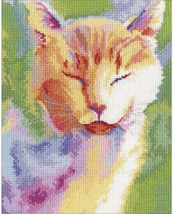 Home Sun Cat - Cross Stitch Kit