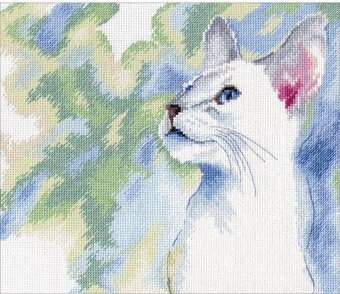 Feline Grace Cat - Cross Stitch Kit