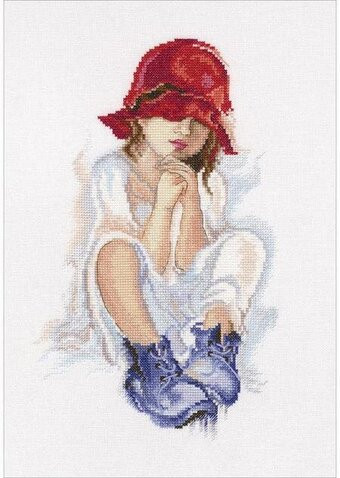 Girl Dreaming - Cross Stitch Kit