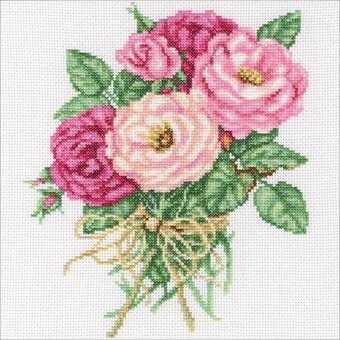 Rose Bouquet - Cross Stitch Kit