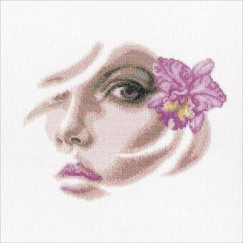Listening to the silence Counted Cross Stitch Kit RTO
