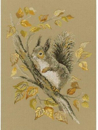 Autumn Story - Cross Stitch Kit