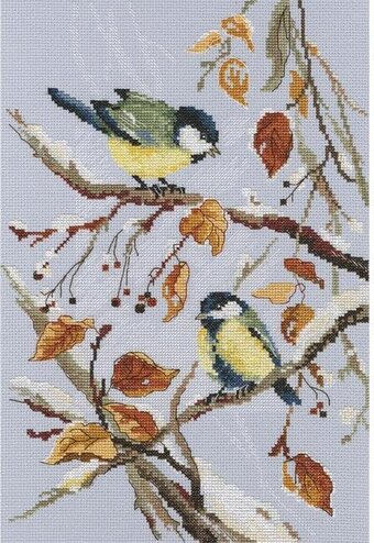 First Snow - Cross Stitch Kit