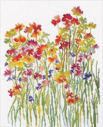 Flower Watercolour - Cross Stitch Kit