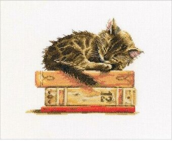 Cat's Dream - Cross Stitch Kit