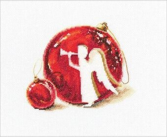 Merry Christmas - Cross Stitch Kit