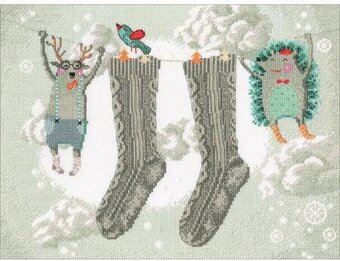 Winter Cares - Cross Stitch Kit
