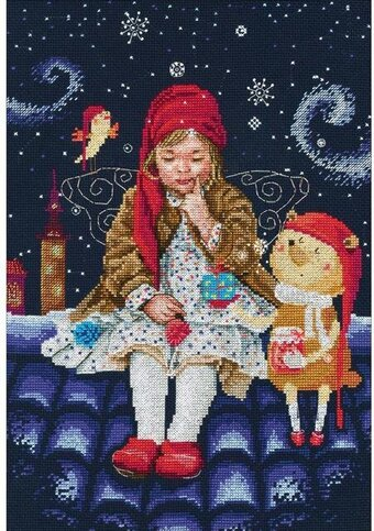 Fairy Tales On The Roof - Cross Stitch Kit