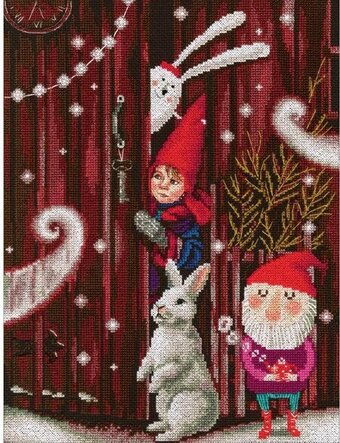 Waiting For A Fairy Tale - Christmas Cross Stitch Kit