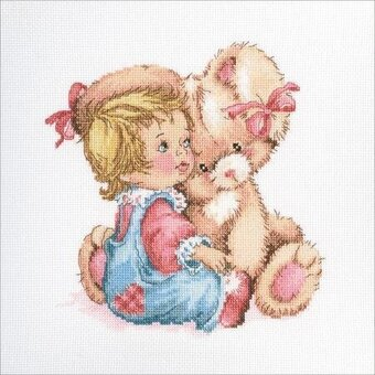 Tender Bunny Rabbit - Cross Stitch Kit