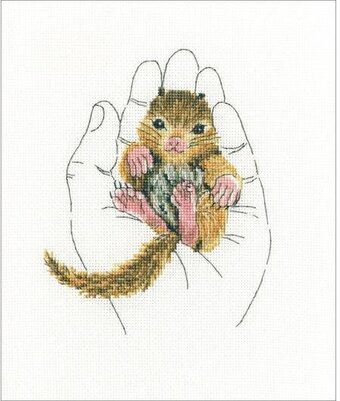Warmth In Palms II - Cross Stitch Kit