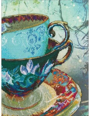Antique Porcelain - Cross Stitch Kit
