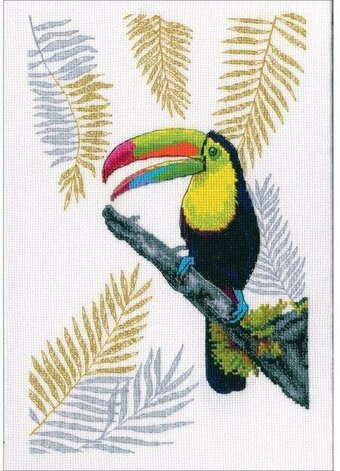 Cross Stitch Kit Parrot M-200