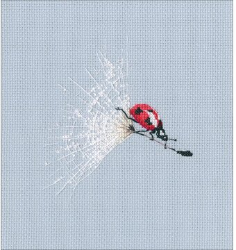 On The Dandelion's Parachute - Counted Cross Stitch Kit