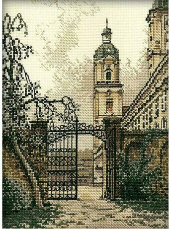 The Gate In The Town - Cross Stitch Kit