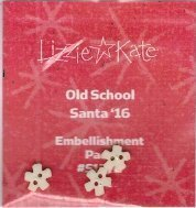 Embellishment Pack Old School - Santa 2016