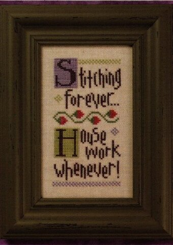 Stitching Forever - Cross Stitch Pattern