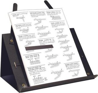PROP-IT Portable Hands-Free Needlework Chart Holder