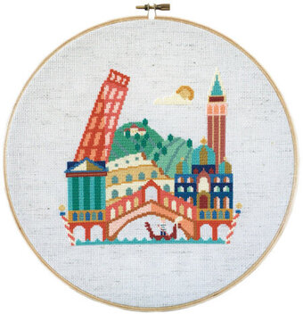 Pretty Little Italy - Cross Stitch Pattern