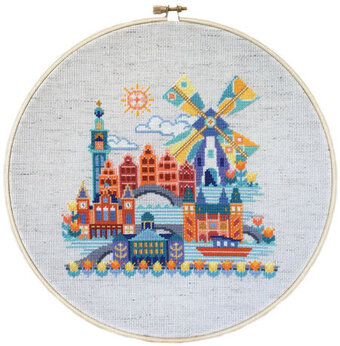 Pretty Little Amsterdam - Cross Stitch Pattern