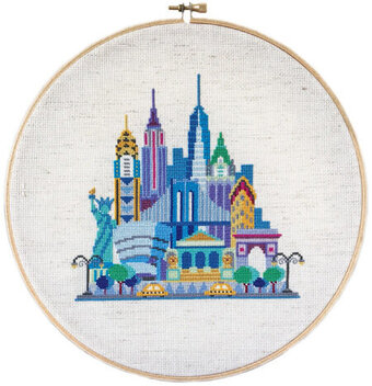 Pretty Little New York - Cross Stitch Pattern