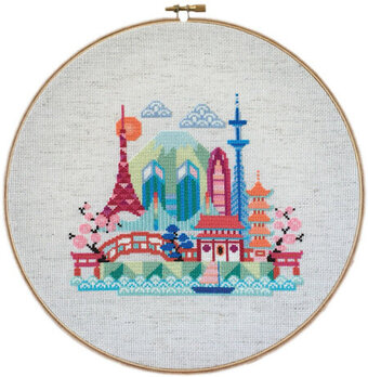 Pretty Little Tokyo - Cross Stitch Pattern