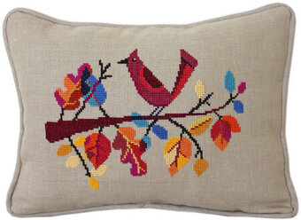 Autumn Bird - Cross Stitch Pattern