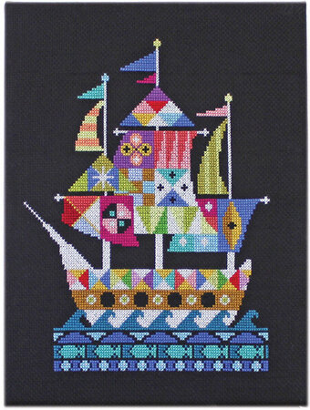 Voyage - Cross Stitch Pattern