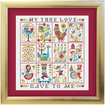 twelve days of christmas cross stitch pattern - When Are The Twelve Days Of Christmas