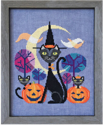 Halloween Cat - Cross Stitch Pattern
