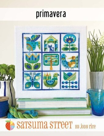 Primavera - Cross Stitch Pattern