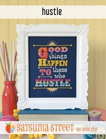 Hustle - Cross Stitch Pattern