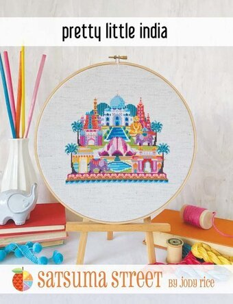 Pretty Little India - Cross Stitch Pattern