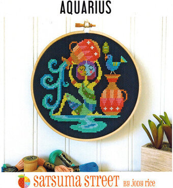 Aquarius - Cross Stitch Pattern