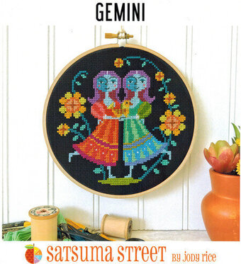 Gemini - Cross Stitch Pattern