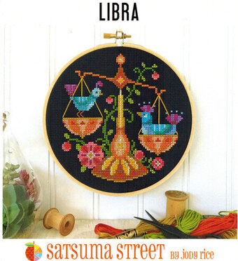 Libra - Cross Stitch Pattern