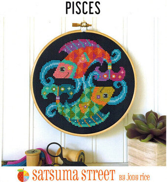 Pisces - Cross Stitch Pattern