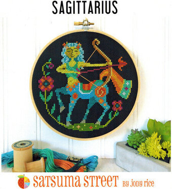 Sagittarius - Cross Stitch Pattern