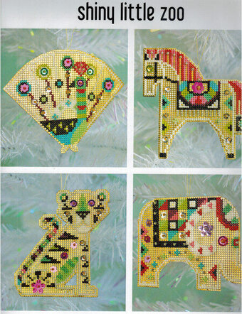 Shiny Little Zoo - Cross Stitch Kit