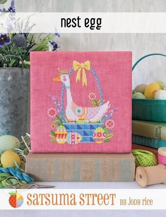 Nest Egg - Cross Stitch Pattern