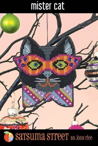 Mister Cat - Cross Stitch Kit