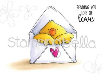 Mail Chick - Cling Rubber Stamp