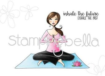 Yoga Bella - Cling Rubber Stamp