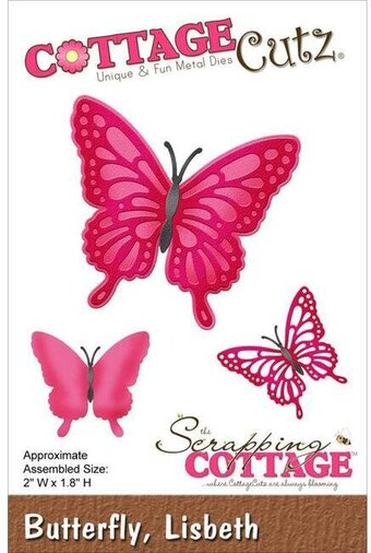 CottageCutz Lisbeth Butterfly Die